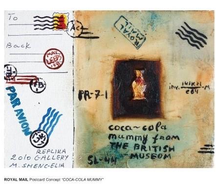 Ladak London Misha Shengelia Royal Mail Coca Cola Mummie