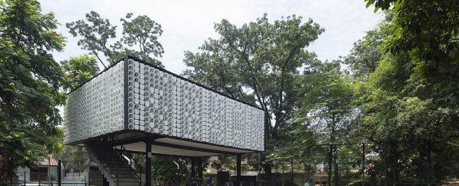 Cemal Emden Taman Bima Microlibrary by SHAU Architects in Bandung, Indonesia, Image © Aga Khan Trust for Culture