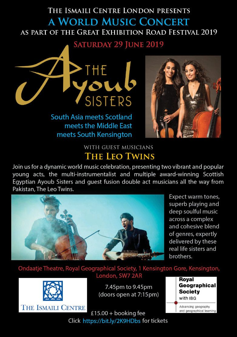 Ayoub Sisters Great Exhibition Road Festival 2019