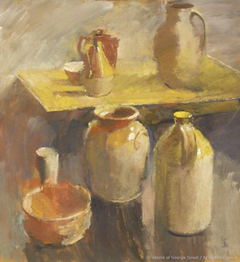 George Israel Oil Painting1981 sold EB_wm