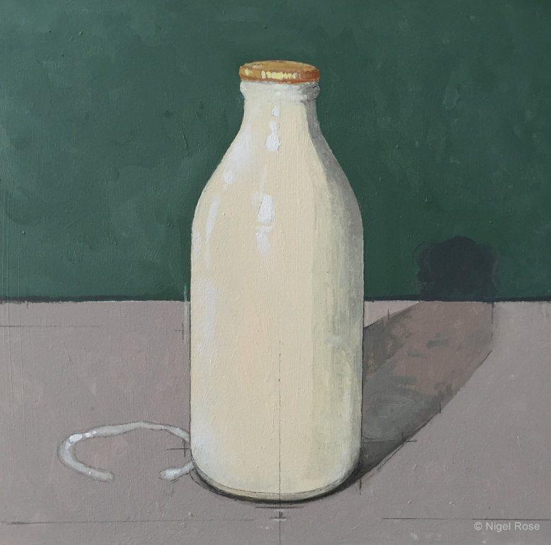 Ladak London Nigel Rose Milk Bottle _2129 c_wm