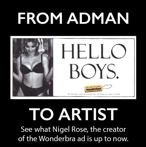 Ladak London From Adman to Artist Flyer - sm1