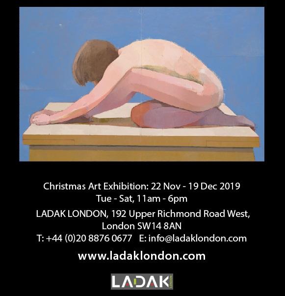 Ladak London From Adman to Artist Flyer - sm2