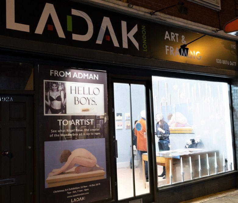 From Adman to Artist, Ladak_London Nigel Rose